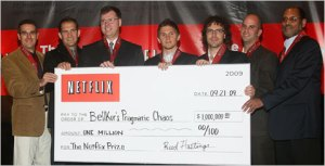 Winners of the $1 million Netflix challenge