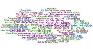 A veritable Who's Who of deep thinkers